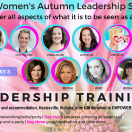Power Up - Womens Autumn Leadership Summit