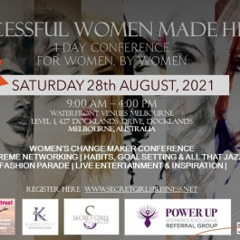Successful Women Made Here Conference